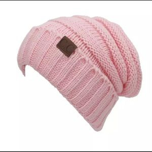 CC Slouchy Beanie+Pink Candy+Perfect Fit+NWT